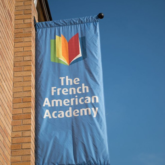 French American Academy Flag