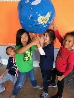 Blog - How Many Nationalities? - 1st Grade