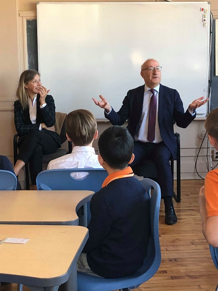 Visit from the French Ambassador