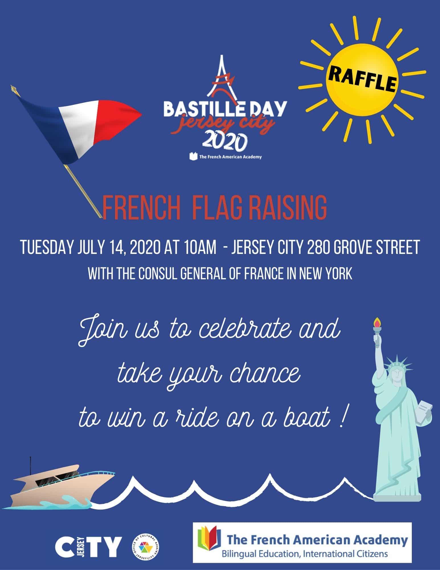 Flyer explaining Bastille-day-event-2020