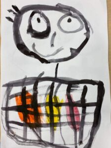 Picture of an Art creation from a child of The French American Academy