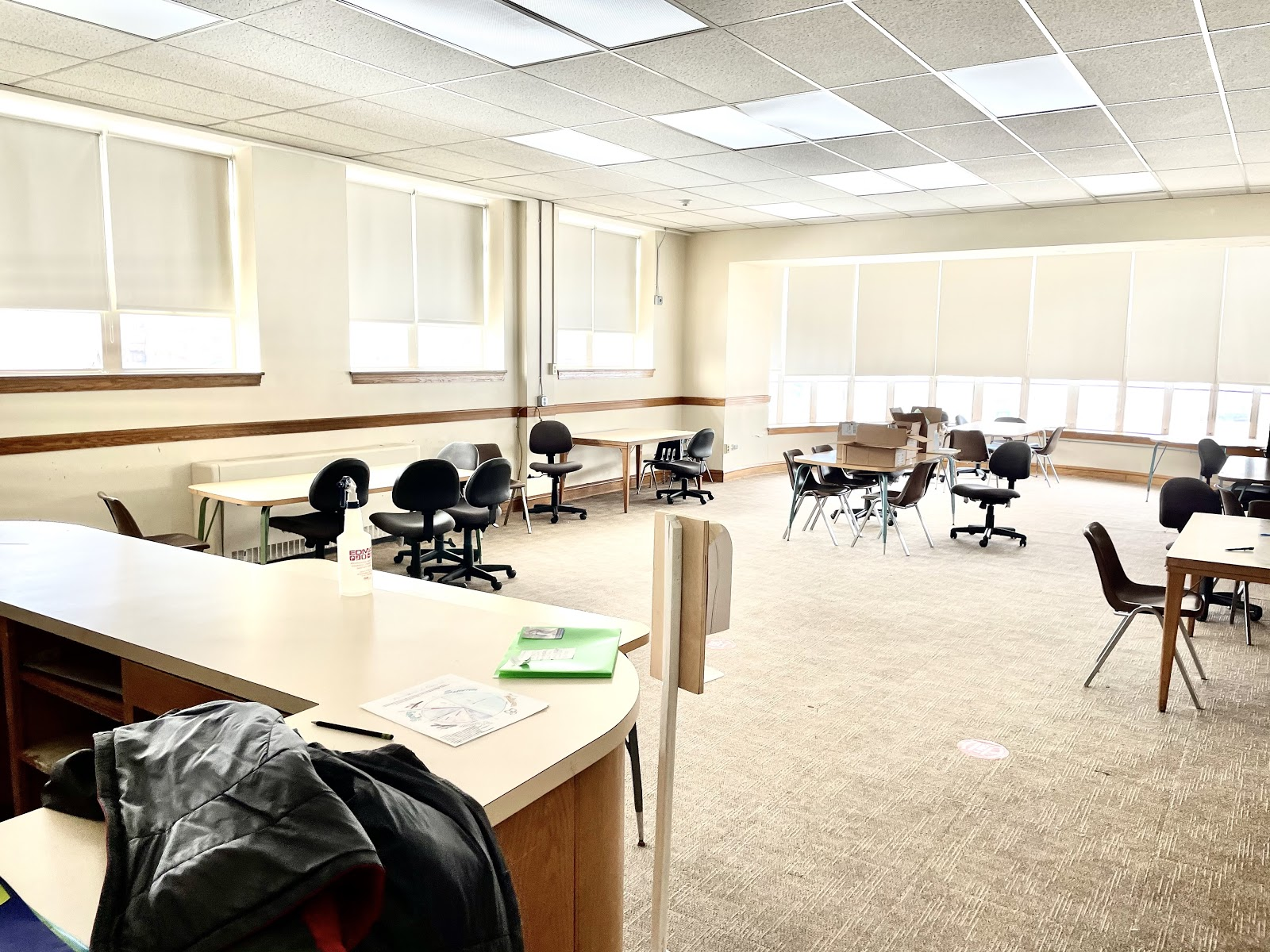 Picture of a classroom in the Englewood Campus