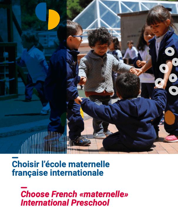 Preschool French brochure cover