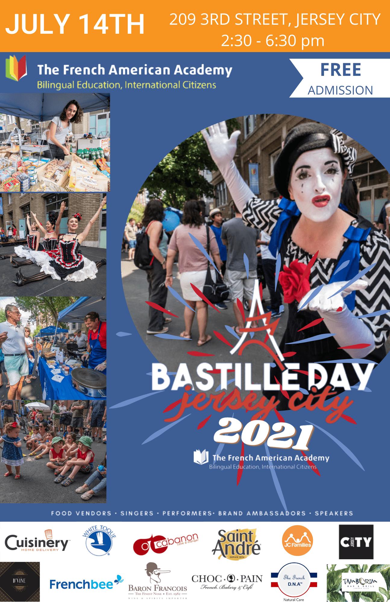 Bastille Day Jersey City 2021