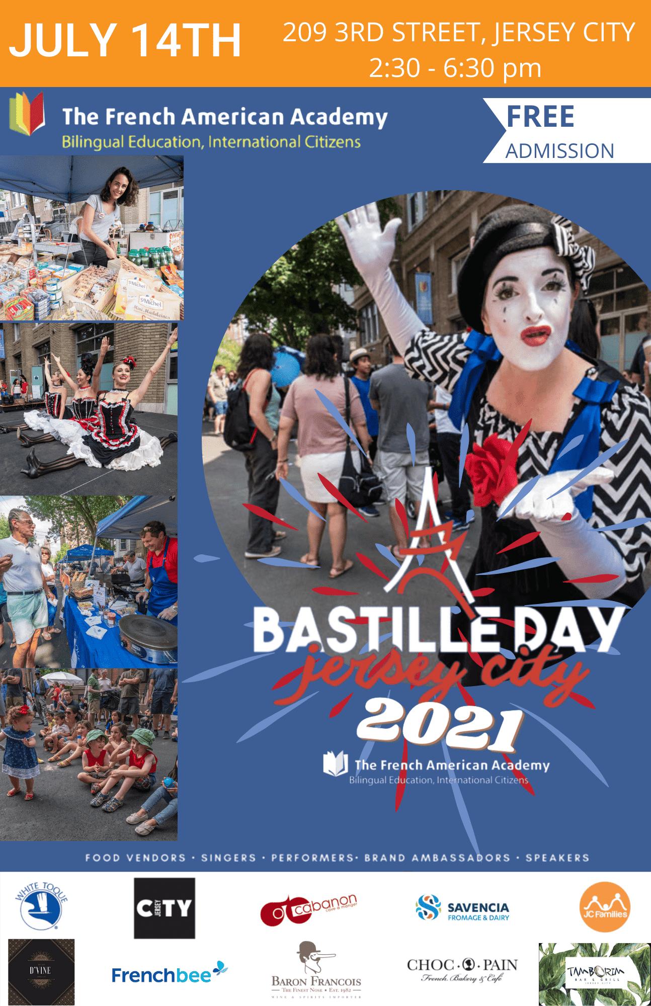 Bastille Day Jersey City July 14