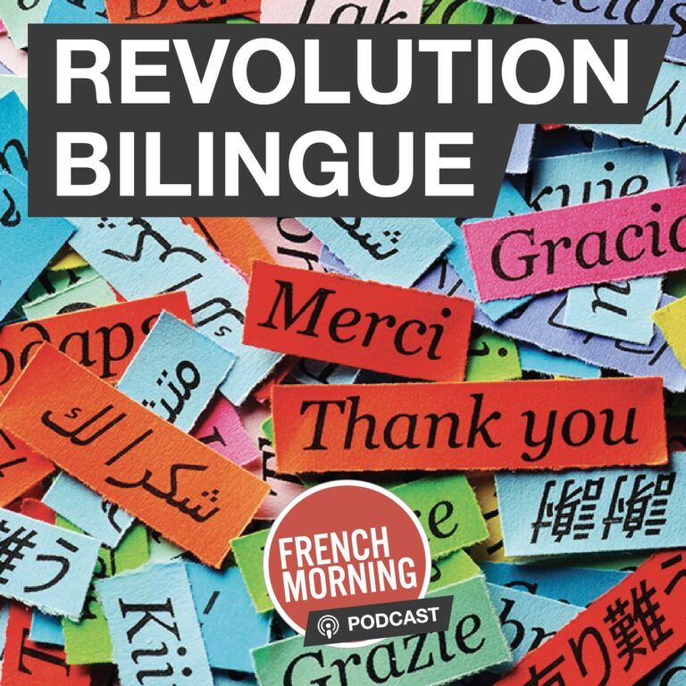 Logo of French Morning podcast : Revolution Bilingue